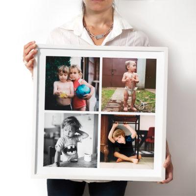 tu cuadro con fotos en 50x70