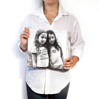 Impresión 30x30 sobre lienzo